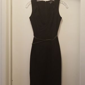 XOXO black fitted dress